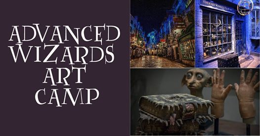 Advanced Wizards Art Camp (ages 11-15)