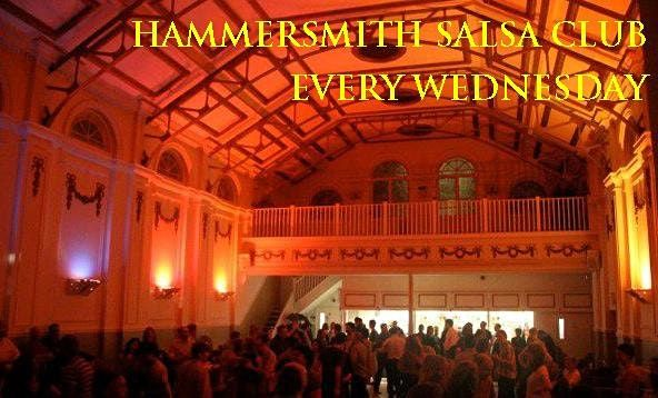 Hammersmith Salsa & Bachata Club every Wednesday