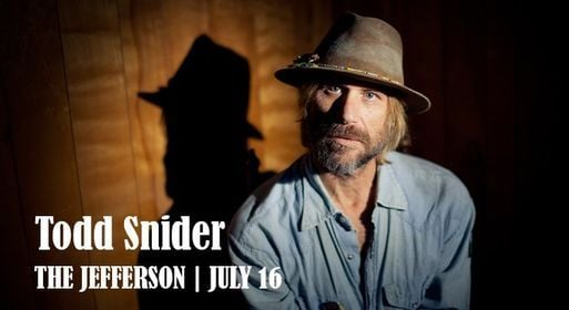 New Date - Todd Snider, 18 September   Event in Charlottesville   AllEvents.in