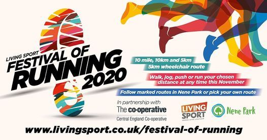 Living Sport Festival of Running 2020, 30 November | Event in Peterborough | AllEvents.in