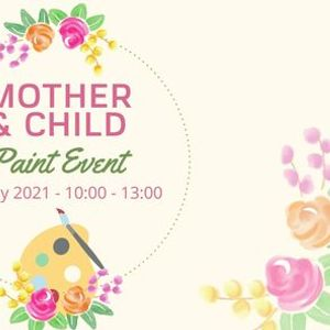 Mother and Child Paint Event