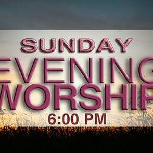 Sunday Evening Worship Service at First Baptist Church of
