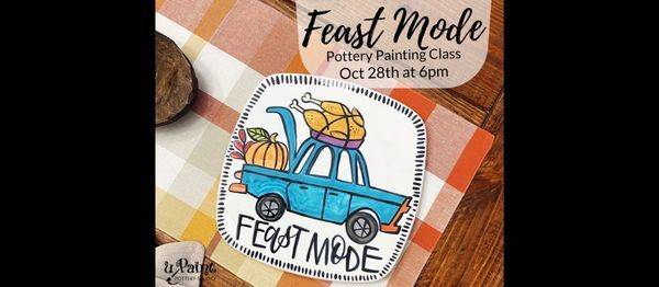 Feast Mode Pottery Painting Class, 28 October | Event in Indianapolis | AllEvents.in