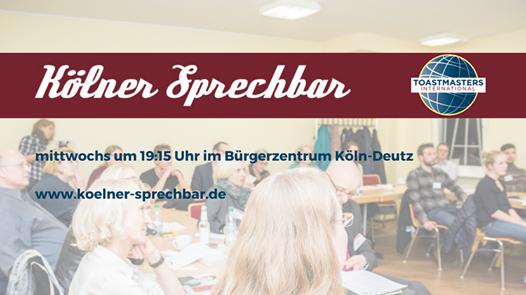 Clubabend der Kölner Sprechbar - Online, 16 December | Online Event | AllEvents.in