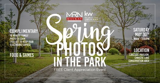 Spring Photos In the Park