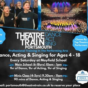 Theatretrain Launch Day Dance Acting & Singing for 4-18yrs