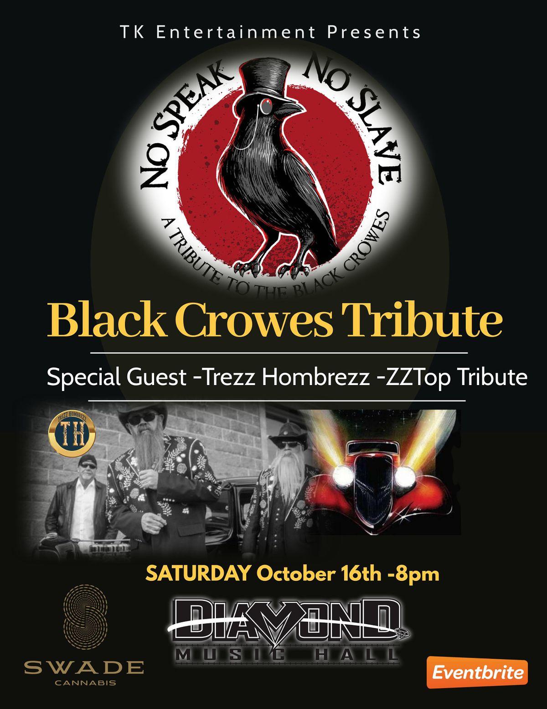 No Speak No Slave - Black Crowes Tribute and Trezz Hombrezz ZZ Top Tribute, 2 November | Event in saint peters