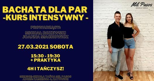 Bachata w parach - Kurs Intensywny!, 27 March | Event in Katowice | AllEvents.in