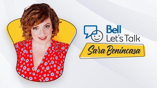 Bell Lets Talk Sara Benincasa