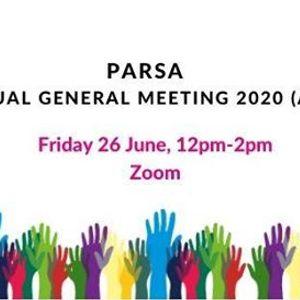PARSA Annual General Meeting 2020