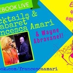 Cocktails & Cabaret w Francesca Amari & Wayne Abravanel