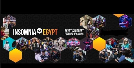 Insomnia Egypt Exhibition 2021, 28 October | Event in Helwan | AllEvents.in