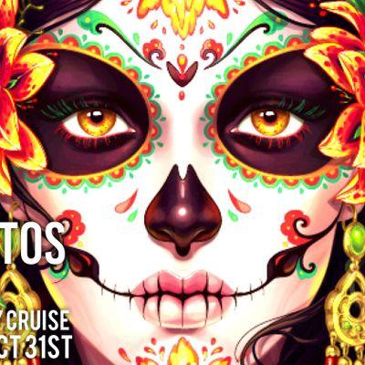 DIA DE LOS MUERTOS  BOAT PARTY CRUISE Sunday Oct  31St