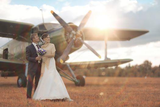 Hangar One at Sywell Aerodrome Wedding Fair