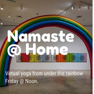 Yoga from Under the Rainbow