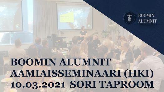 Boomin Alumnit aamiaisseminaari (HKI) - Boomarikulmia vastuullisuuteen, 16 December | Event in Helsinki | AllEvents.in