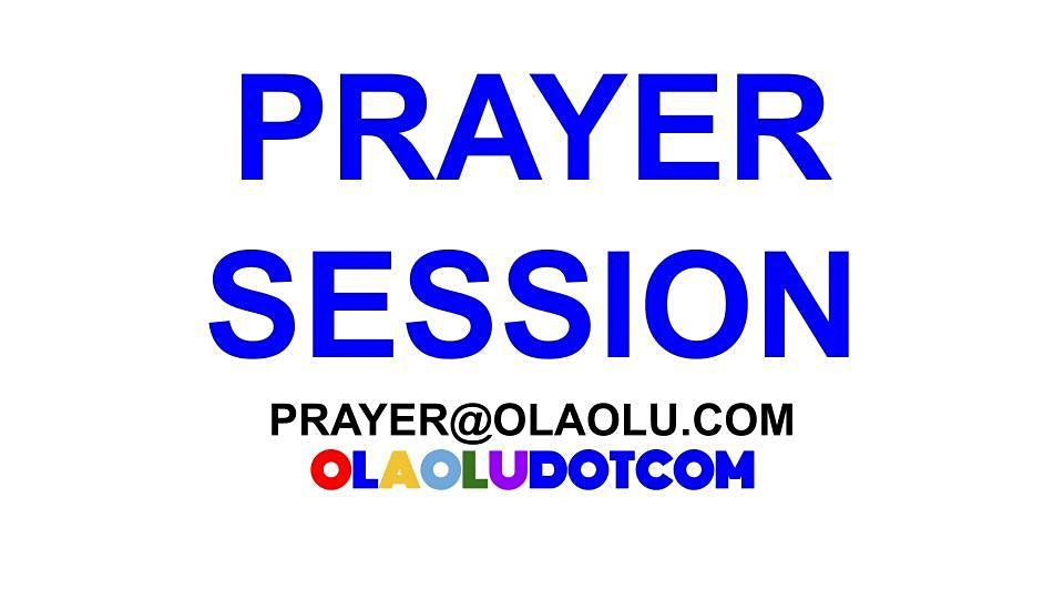 MONTHLY PRAYER SESSION, 1 October | Online Event | AllEvents.in