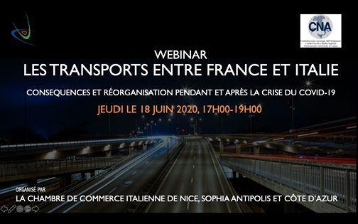 Les Transports Entre France Et Italie Et La Crise Covid 19 At