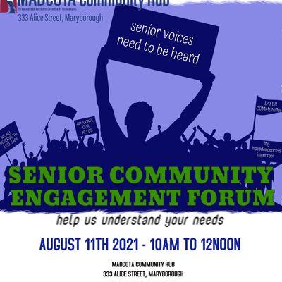 Senior Community Engagement Forum