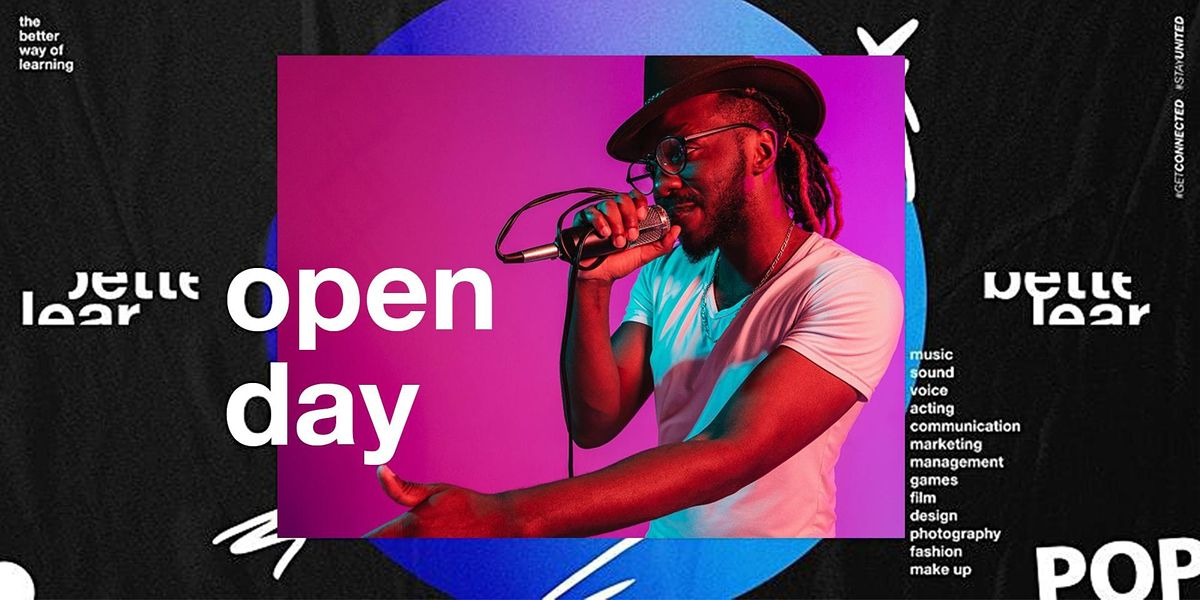 Open Day - The Better Way of Learning - Career in Music & Media, 9 October | Event in Amsterdam | AllEvents.in