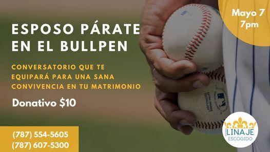 Esposo Párate en el Bull Pen - Conversatorio para esposos | Event in San Juan | AllEvents.in