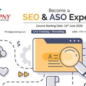 Become a SEO and ASO Expert (Live Training  Recording)