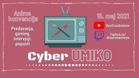 Cyber UmiKo 2021 | Anime Konvencija, 15 May | Event in Grado | AllEvents.in
