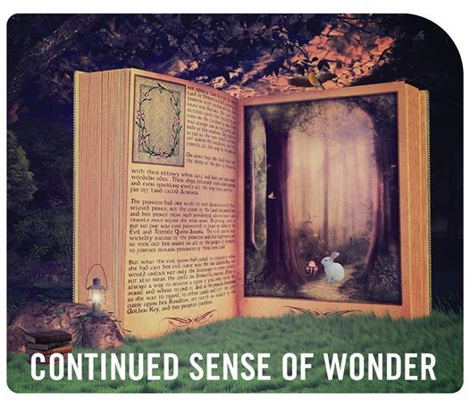 Continued Sense of Wonder From Page to Screen