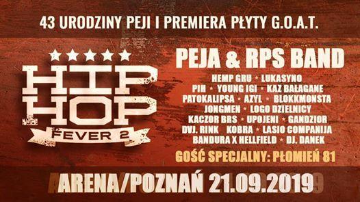 Hip Hop Fever 2  Pozna  Hala Arena