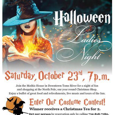 Ladies Night Halloween Costume Contest