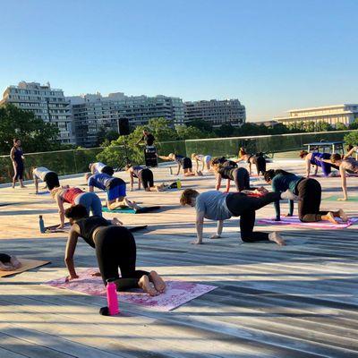 HEALTH & WELLNESS Sunrise Pilates on the Rooftop