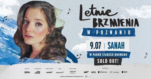 Letnie Brzmienia w Parku Starego Browaru: sanah - SOLD OUT!, 9 July | Event in Poznan | AllEvents.in