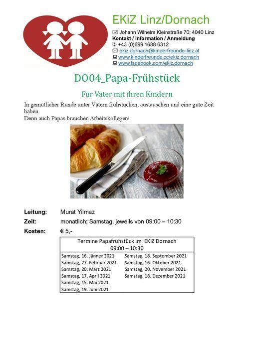 Papa - Frühstück, 15 May | Event in Linz | AllEvents.in