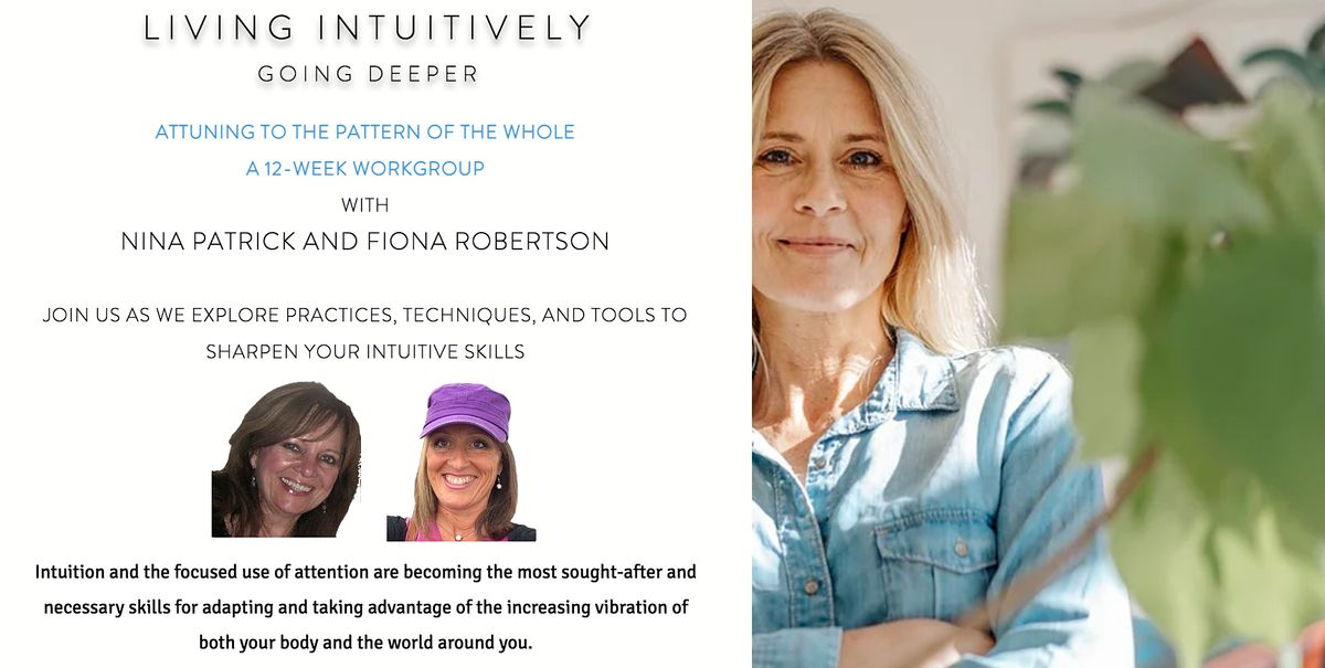 Living Intuitively  -  12 week Online Event & Work Group | Event in San Diego | AllEvents.in