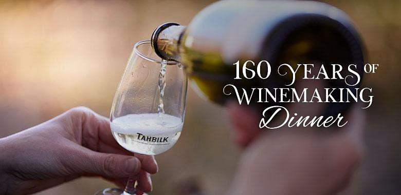 Tahbilks 160 Years of Winemaking Dinner  Brisbane