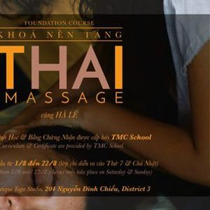 THAI MASSAGE - FOUNDATION 1