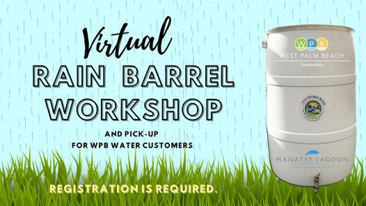 Rain Barrel Giveaway, 12 May | Event in West Palm Beach | AllEvents.in