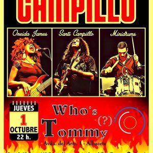 Santiago Campillo en Whos Tommy - Albacete