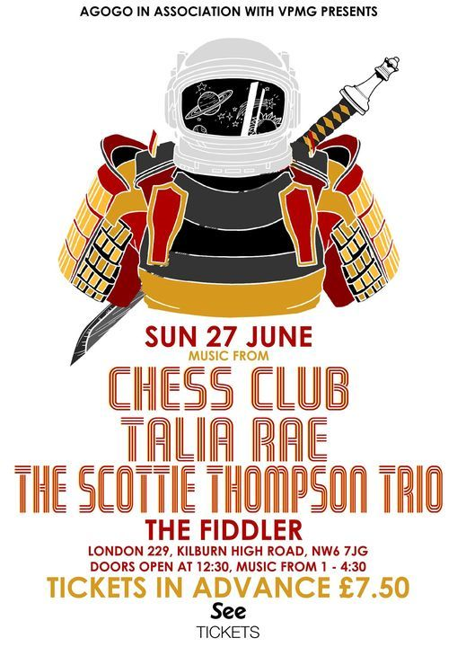Club Agogo: Chess Club, 27 June   Event in London   AllEvents.in