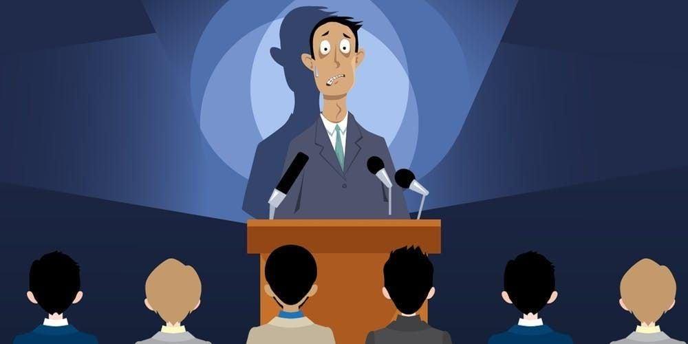 Presenting public speaking