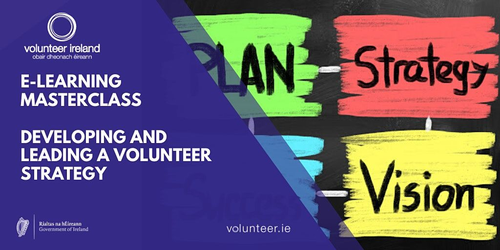 Developing and leading a volunteer strategy