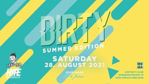 DIRTY - MEGA Schaumparty 2021, 28 August | Event in Zürich | AllEvents.in