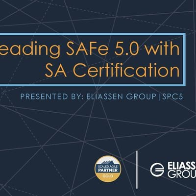 REMOTE - GTR - Leading SAFe 5.0 with SA Certification - Dallas - October