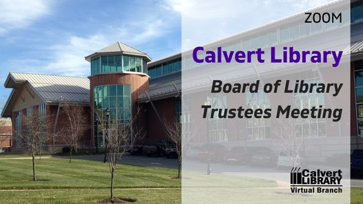 Board of Library Trustees Meeting (Zoom) | Online Event | AllEvents.in