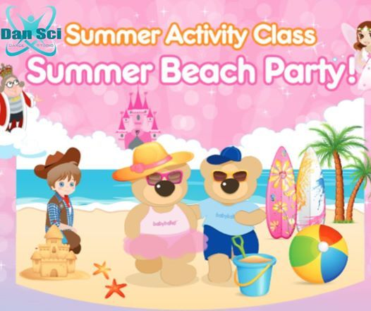 Babyballet Summer Beach Party 18m-5yrs