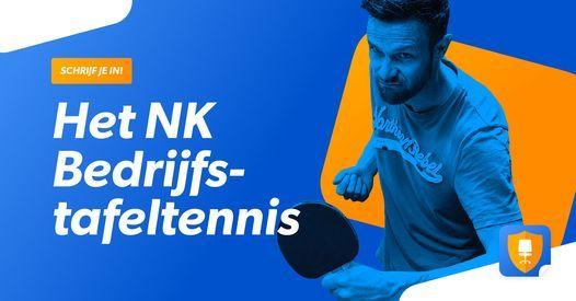 NK Bedrijfstafeltennis, 24 October   Event in Zwolle   AllEvents.in