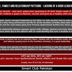 The Father is a Leader in the family - Lets talk about this Role