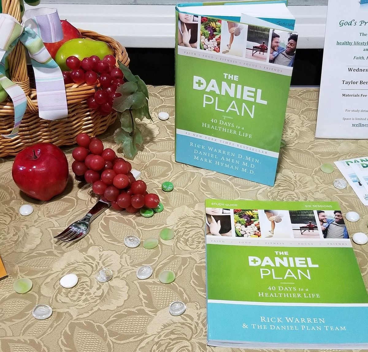 """In Person AND Virtual """"The Daniel Plan - 40 Days to A Healthier Life"""" Class   Event in Hampton   AllEvents.in"""
