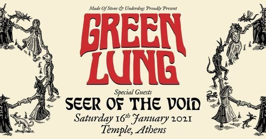 Green Lung [UK] live in Athens, 16 January | Event in Athens | AllEvents.in