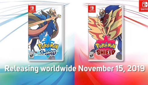 Pokmon Sword and Shield worldwide release